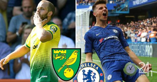 Nhận định bóng đá Norwich City - Chelsea: Mơ 3 điểm đầu tay tặng Lampard (Vòng 3 Ngoại hạng Anh)-Bóng đá 24h
