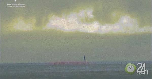 Xem tàu ngầm Nga phóng siêu tên lửa hạt nhân uy lực nặng 40 tấn-Thế giới