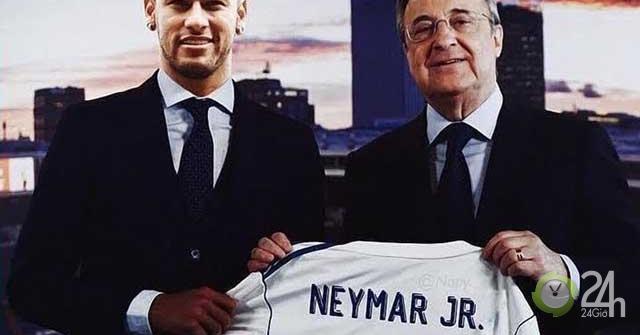"""Neymar cứ bình tĩnh: Real Madrid là chuyên gia """"nổ bom tấn"""" phút chót-Bóng đá 24h"""
