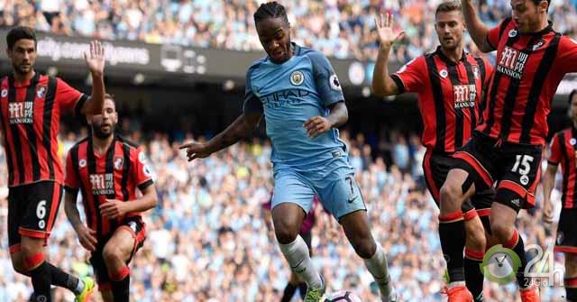 Trực tiếp bóng đá Bournemouth - Man City: Khó cản nhà đương kim vô địch (Vòng 3 Ngoại hạng Anh)-Bóng đá 24h