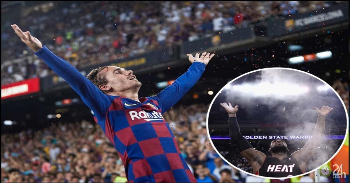 Griezmann tỏa sáng, Barca ngược dòng: Siêu phẩm hình quả chuối, ăn mừng độc đáo-Bóng đá 24h