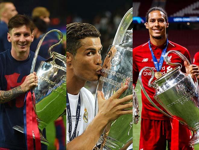 Cầu thủ hay nhất châu Âu 2019: Ronaldo