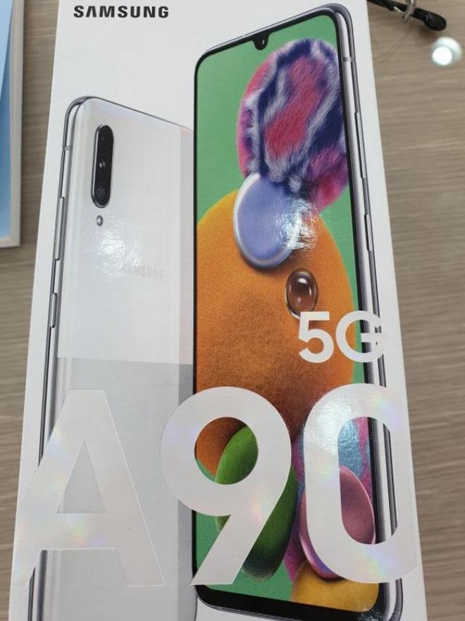 Hộp bán lẻ xác nhận thông số kỹ thuật quan trọng của Galaxy A90 5G - 1