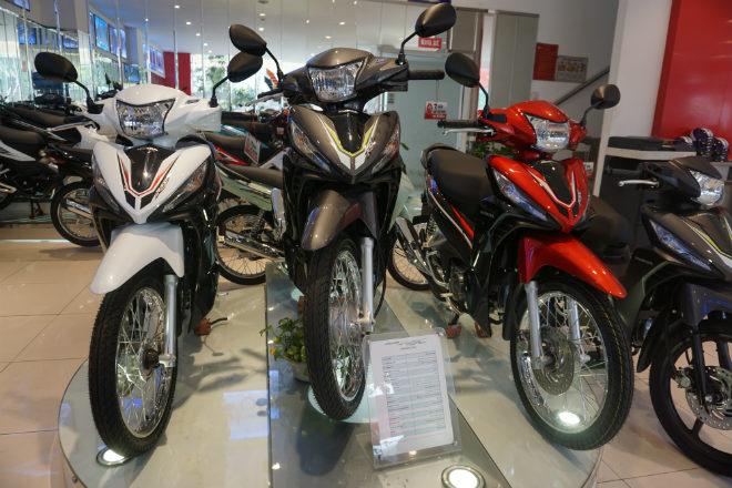 Bảng giá xe máy Honda tháng 9/2019: Khởi sắc, tăng giá trở lại - 2