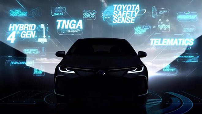 Toyota Corolla Altis thế hệ mới ra mắt ngày 13/9 tại Thái Lan - 3