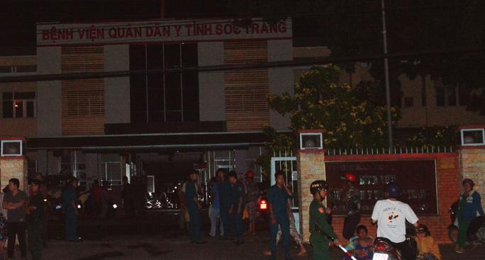Cháy bệnh viện Quân Dân Y tỉnh Sóc Trăng - 1