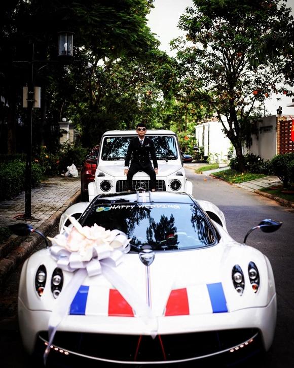 Đại gia Minh nhựa làm gì với siêu xe 80 tỷ để chuẩn bị đám cưới con gái? - 1