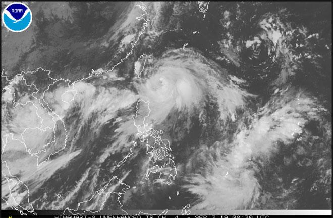 Xuất hiện tam giác bão - áp thấp nhiệt đới, tổ hợp thiên tai hiếm gặp - 2