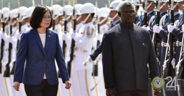 Đảo quốc Thái Bình Dương quay lưng với Đài Loan, căng thẳng Mỹ-Trung tăng nhiệt?-Thế giới