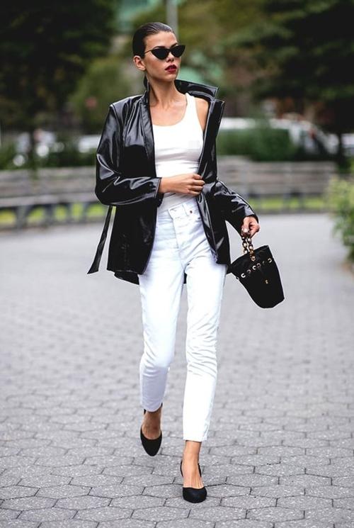 4 lý do nên mặc màu trắng mùa mát - 6