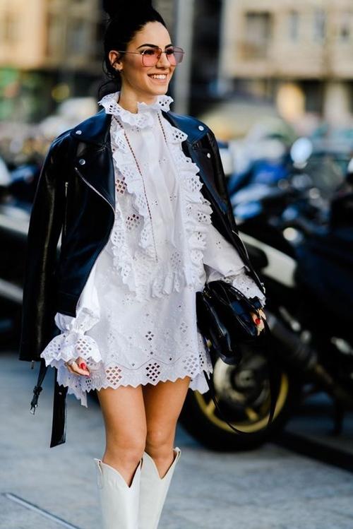 4 lý do nên mặc màu trắng mùa mát - 5
