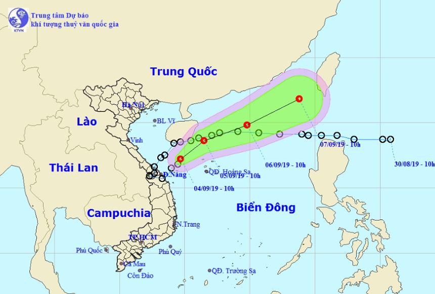 Chuyên gia lý giải sự xuất hiện của tam giác bão-áp thấp nhiệt đới hiếm gặp - 2