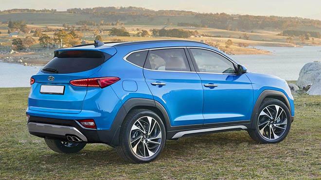 Đây là hình ảnh Hyundai Tucson 2020 thế hệ mới, khá chi tiết - 2