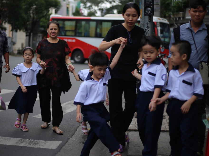 Ngày khai giảng của năm trẻ sinh 5 đầu tiên tại Việt Nam - 2