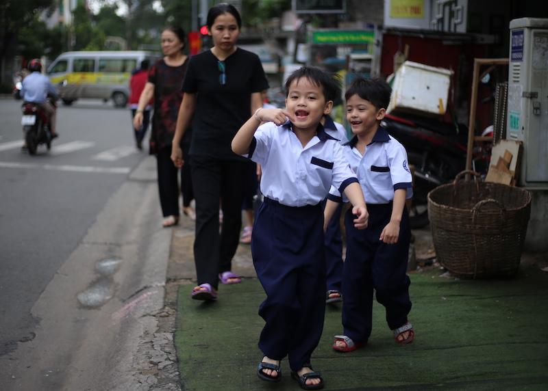 Ngày khai giảng của năm trẻ sinh 5 đầu tiên tại Việt Nam - 6