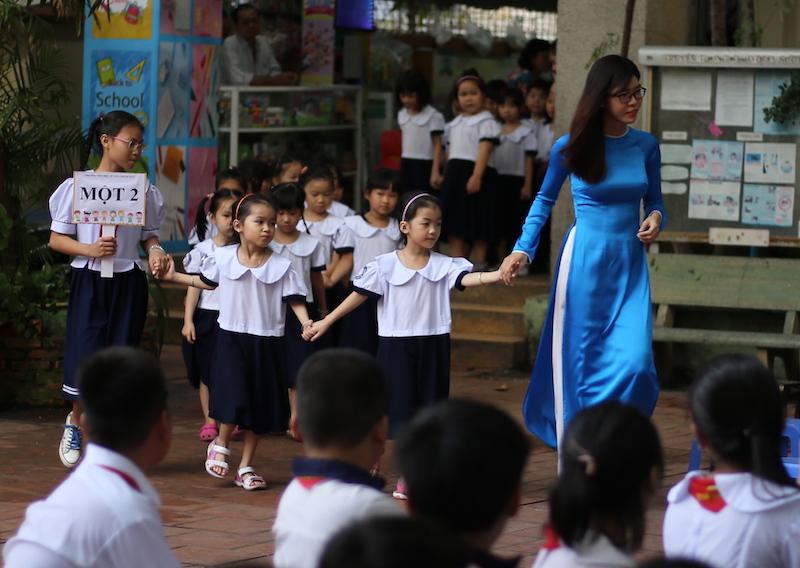 Ngày khai giảng của năm trẻ sinh 5 đầu tiên tại Việt Nam - 9
