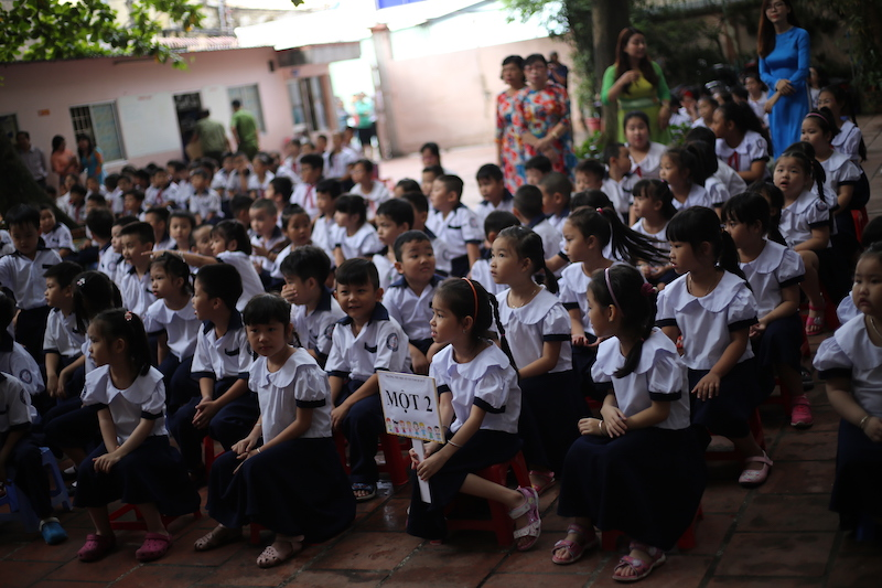 Ngày khai giảng của năm trẻ sinh 5 đầu tiên tại Việt Nam - 10
