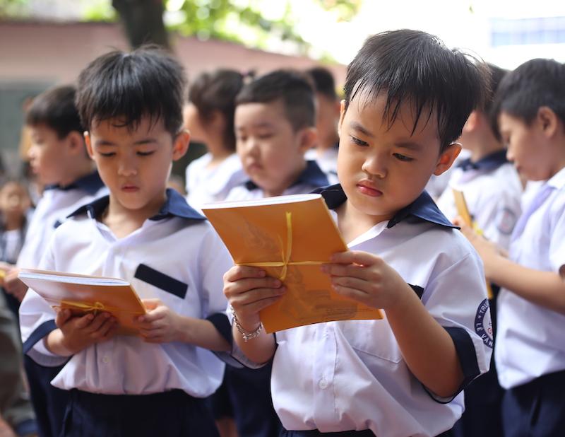 Ngày khai giảng của năm trẻ sinh 5 đầu tiên tại Việt Nam - 14