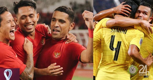 Trực tiếp bóng đá Indonesia - Malaysia: Đẳng cấp tương đồng, hứa hẹn kịch tính (Vòng loại World Cup)