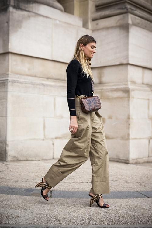 Bí quyết mặc đẹp quần túi hộp hầm hố - 7