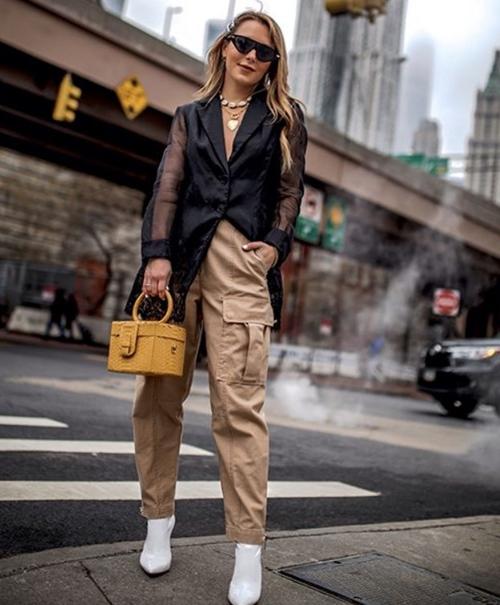 Bí quyết mặc đẹp quần túi hộp hầm hố - 10