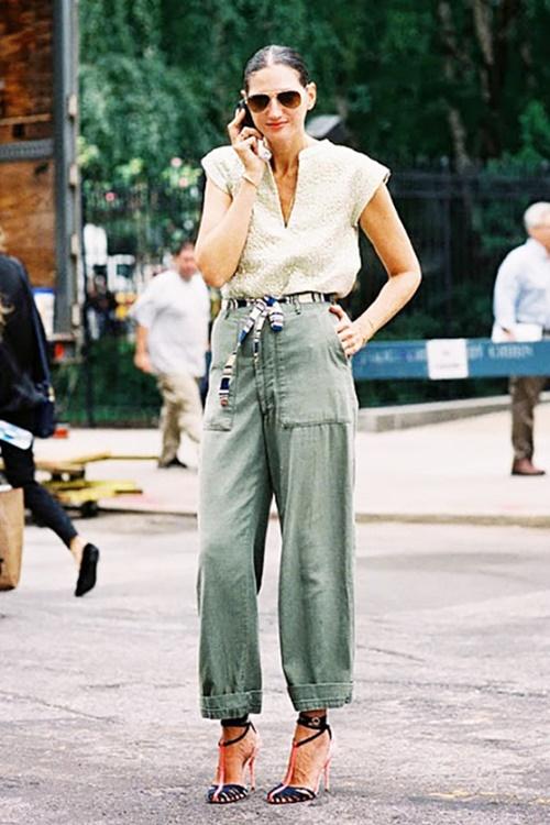 Bí quyết mặc đẹp quần túi hộp hầm hố - 13