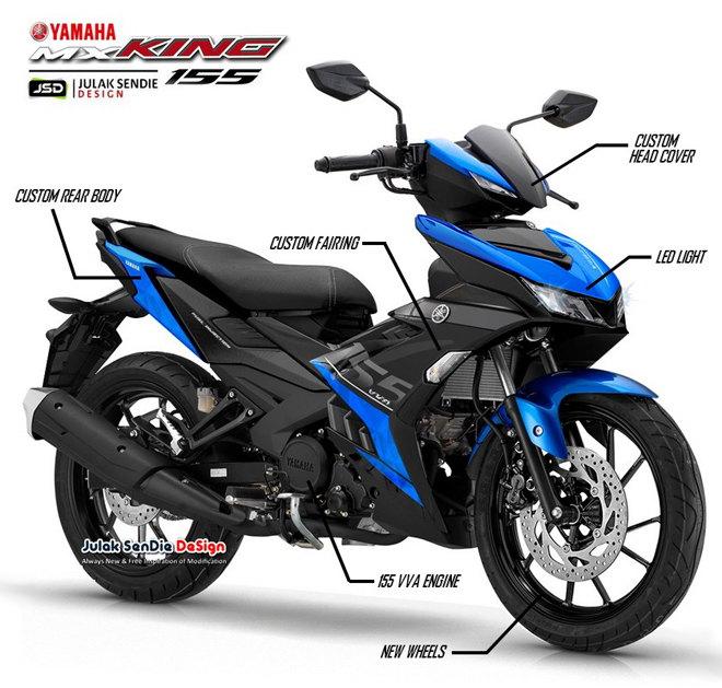 """NÓNG: Lộ ảnh Yamaha Exciter 155 VVA, Winner X """"đứng ngồi không yên"""" - 2"""