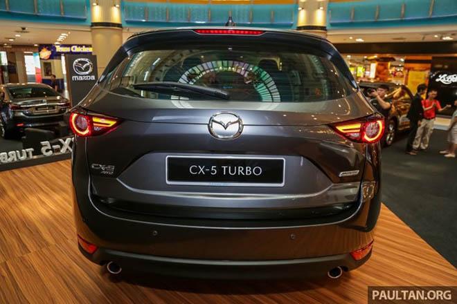 Cận cảnh Mazda CX-5 2.5L Turbo AWD 227 mã lực tại Malaysia - 8