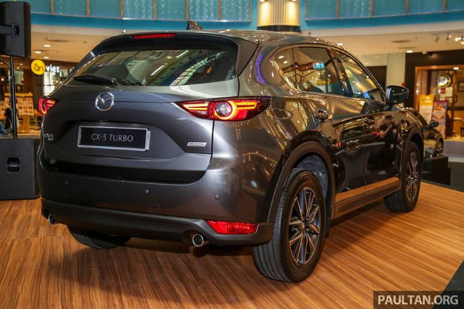 Cận cảnh Mazda CX-5 2.5L Turbo AWD 227 mã lực tại Malaysia - 9