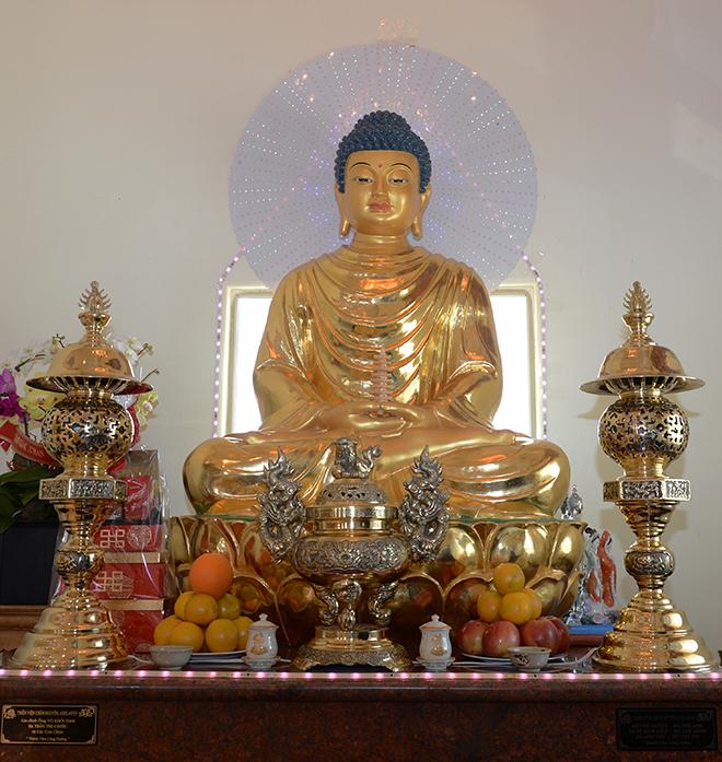 Chiêm ngưỡng ngôi chùa Việt Nam lớn nhất trên sa mạc ở Mỹ - 7