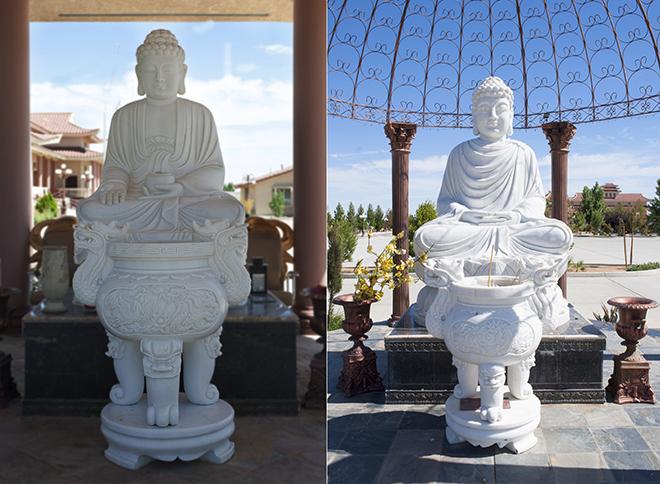 Chiêm ngưỡng ngôi chùa Việt Nam lớn nhất trên sa mạc ở Mỹ - 12