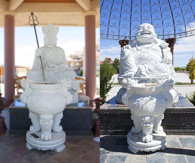 Chiêm ngưỡng ngôi chùa Việt Nam lớn nhất trên sa mạc ở Mỹ - 11
