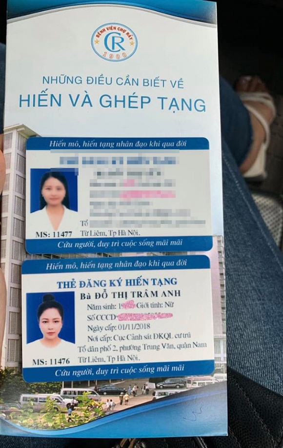 Hot girl Trâm Anh bất ngờ chia sẻ ảnh đi đăng ký hiến tạng - 1
