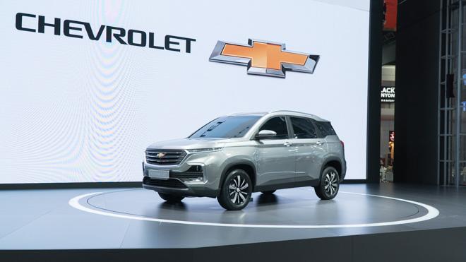 Chevrolet Captiva thế hệ mới ra mắt, giá bán từ 754 triệu VNĐ