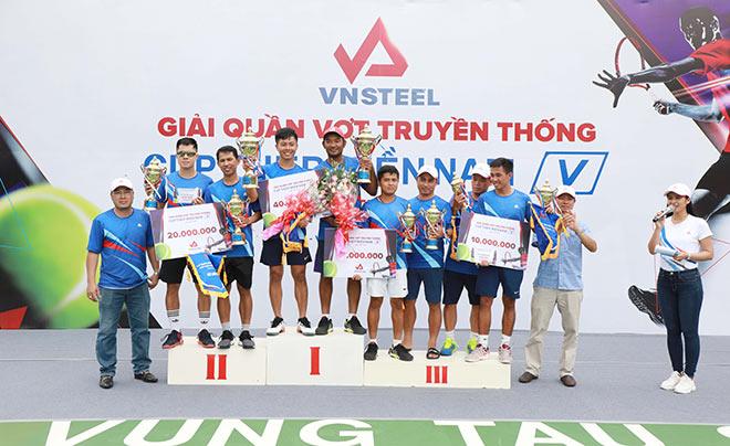 Thành công mùa Giải quần vợt truyền thống Cúp Thép Miền Nam /V/ lần thứ XVIII - Năm 2019 - 3