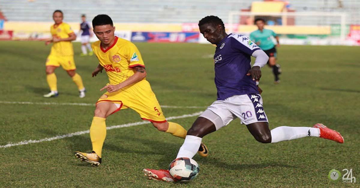 Trực tiếp bóng đá Hà Nội FC vs Nam Định: Diễn biến, Clip tình huống mới nhất