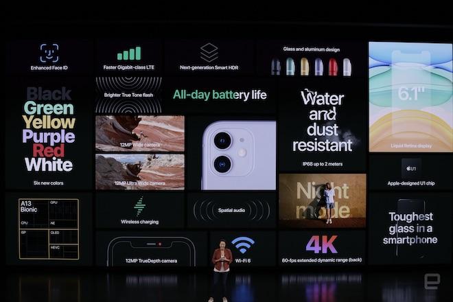TRỰC TIẾP: Bộ ba iPhone 11 chính thức trình làng, giá từ 699 USD - 19
