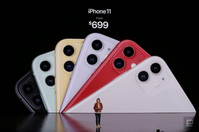 TRỰC TIẾP: Bộ ba iPhone 11 chính thức trình làng, giá từ 699 USD - 18