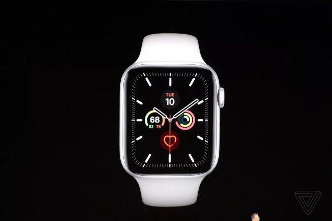 Apple Watch Series 5 trình làng với màn hình luôn bật, giá từ 399 USD - 1