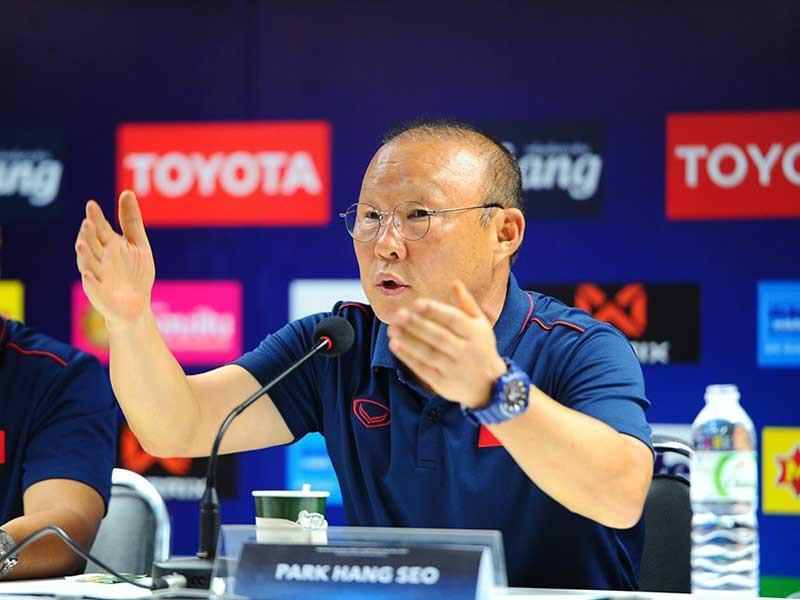 Ông Park và mệnh lệnh 'thắng mọi trận đấu'