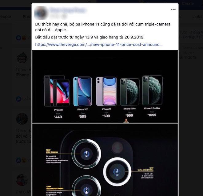 """Dân mạng """"loạn nhịp"""" khi đánh giá iPhone 11 vừa ra mắt - 4"""