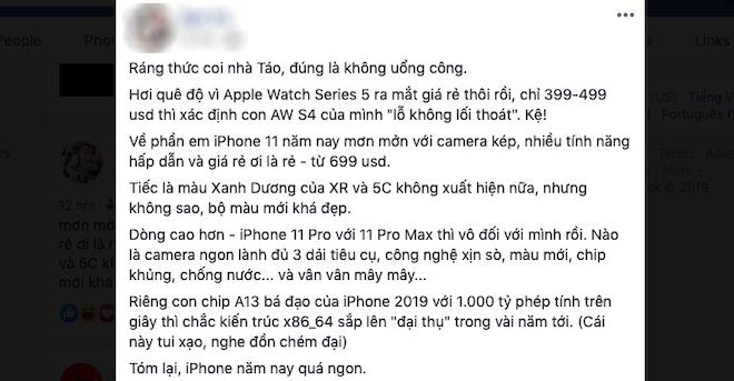 """Dân mạng """"loạn nhịp"""" khi đánh giá iPhone 11 vừa ra mắt - 11"""