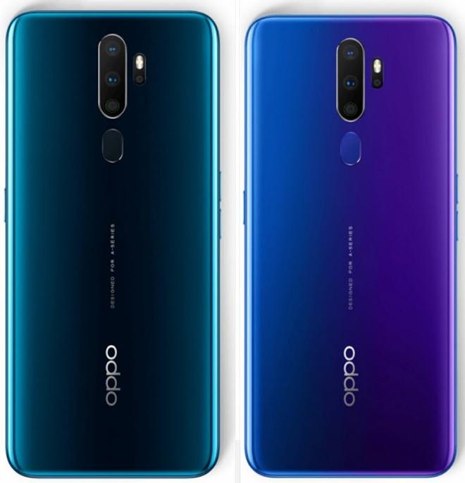 Oppo A9 (2020) chính thức ra mắt với 4 camera, pin khủng - 2