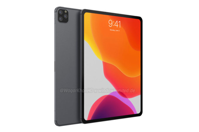 Ý tưởng iPad Pro (2019) gây lôi cuốn với cảm hứng từ iPhone 11 - 1