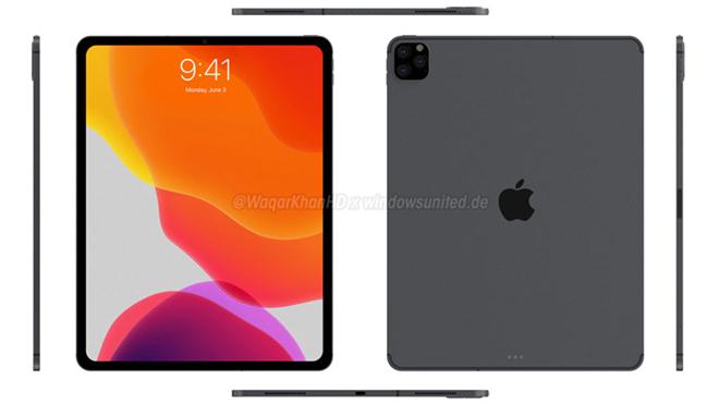 Ý tưởng iPad Pro (2019) gây lôi cuốn với cảm hứng từ iPhone 11 - 2
