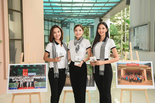 Các người đẹp hoa hậu mở đầu hành trình tặng sách đến Đồng bằng Sông Cửu Long - 2