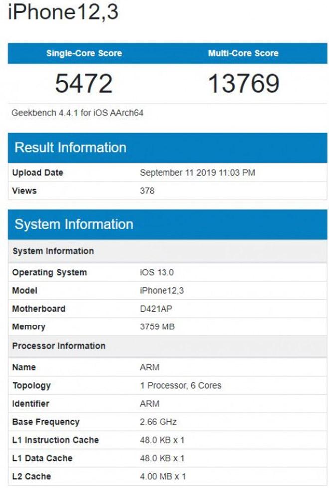 iPhone 11 Pro có RAM 4GB nhưng vẫn khiến người dùng thất vọng - 2