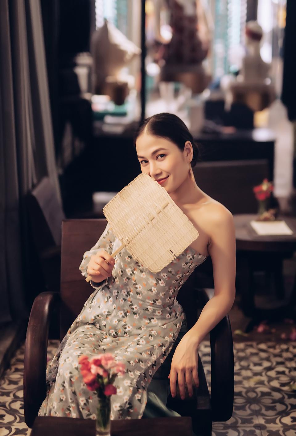 """Hoa hậu Tuyết Nga đáp trả tin đồn được đại gia """"chống lưng"""" làm nghệ thuật - 1"""