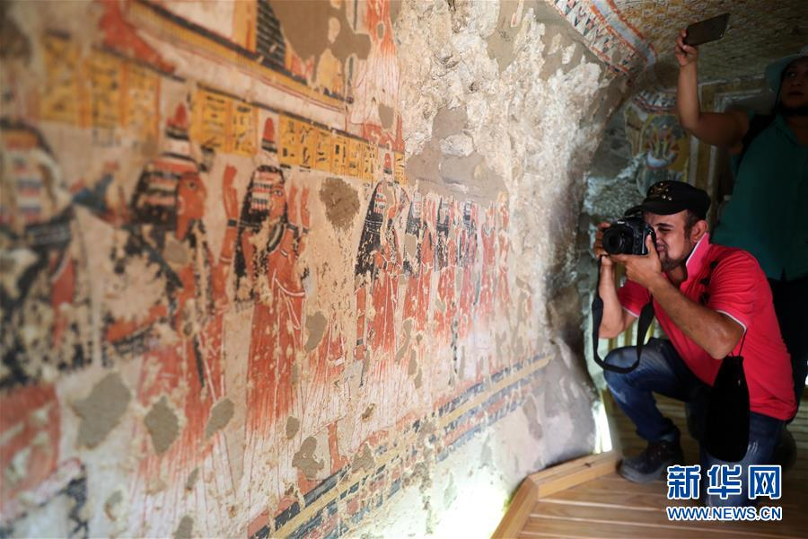 Ai Cập mở cửa 2 ngôi mộ cổ 3.300 tuổi để du khách thỏa sức vào khám phá - hình ảnh 6