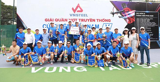 Thành công mùa Giải quần vợt truyền thống Cúp Thép Miền Nam /V/ lần thứ XVIII - Năm 2019 - 1